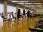 MSCCメンバー:朝のトレーニングメニュー実践中