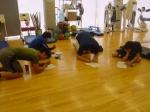 MSCCメンバー:朝のトレーニング後の反省点などをきちんと記録してます