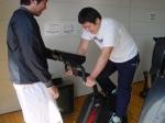 2009/3/12 アメフト部朝のトレーニング パワーマックス