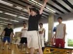 外部ウェイトリフティングコーチ内藤さんに教わる2009/6/27