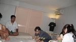 2009/9 MSCCグアム合宿写真 テーピング勉強会風景です